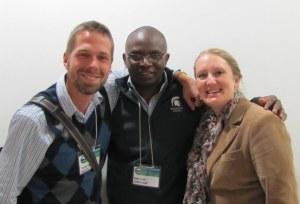 Some Spartan Historians in Gaborone, July 2013