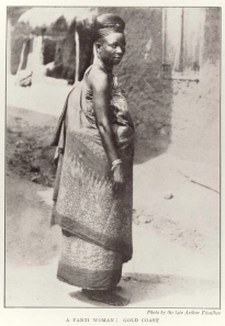 Fanti Woman, 1910, from NYPL Africana Collection