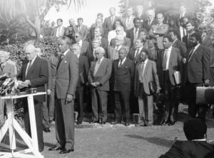 Mandela's 1994 inauguration