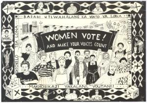 1994 Poster Matla Trust Speak Magazine (SAHA)